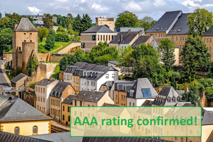 Moody's confirm Luxemburg's AAA rating